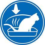 消化率を高めることで糞便の量と臭いを軽減